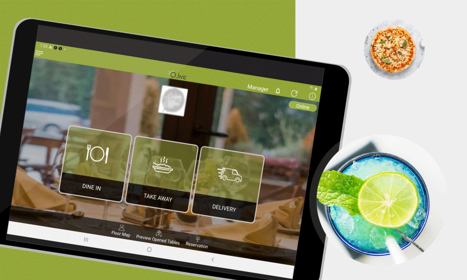 O-Live Restaurant Management Software