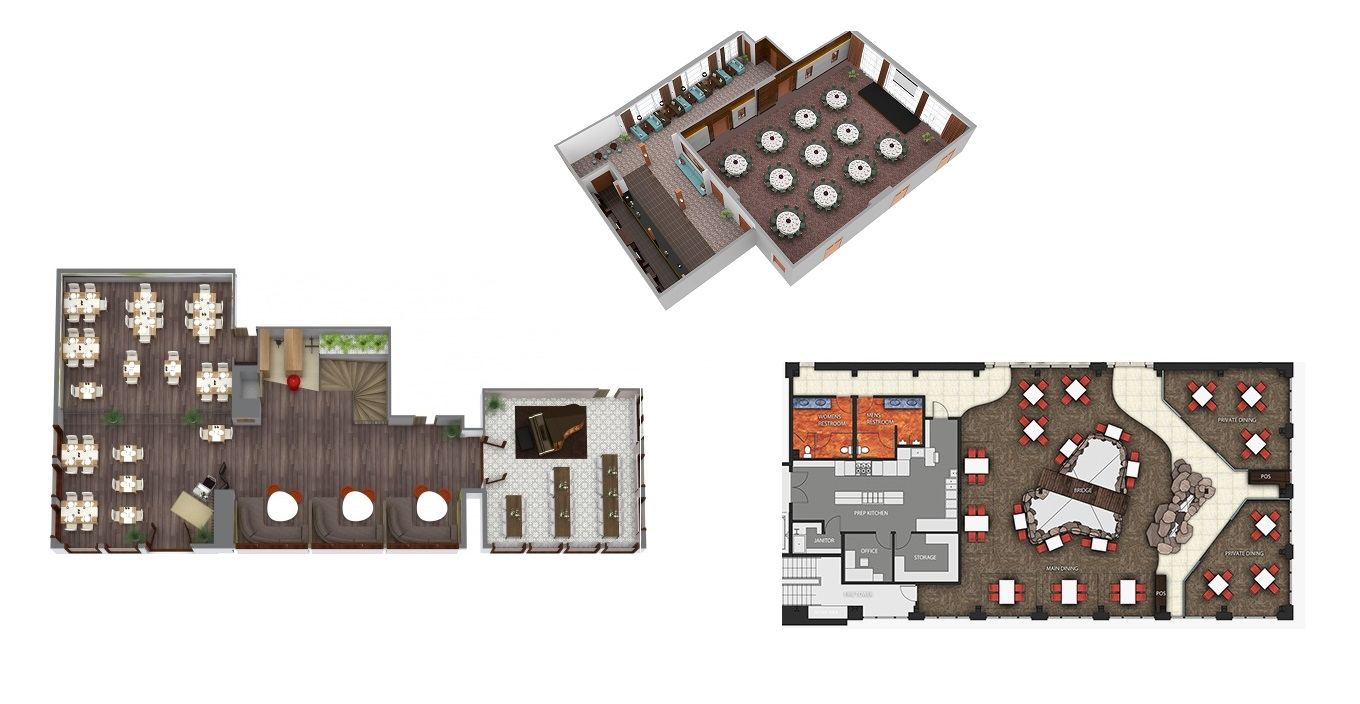 O-Reservation Custom Floor Plan